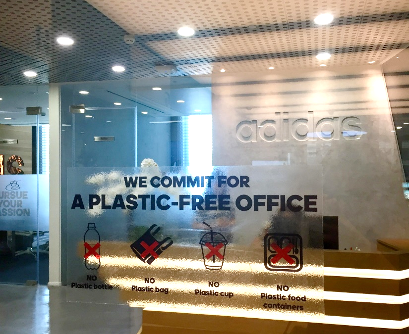 adidas success story: a plastic-free office